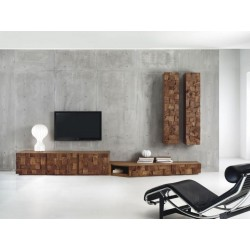 Parete attrezzata Wooddoc - Design by Enrico Bedin, Alberto Florian