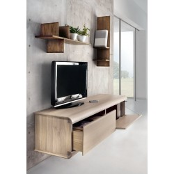 Porta TV Curve - Design by Alberto Florian