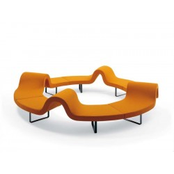 Panca modulare Longway E Segis - Design Bartoli