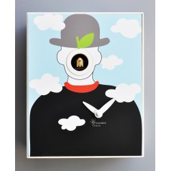 Orologio a Cucù D'Apres Magritte by Pirondini Italia