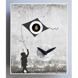 Orologio a Cucù D'Apres Banksy by Pirondini Italia