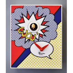 Orologio a Cucù D'Apres Roy Lichtenstein by Pirondini Italia