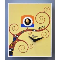 Orologio a Cucù D'Apres Gustav Klimt by Pirondini Italia