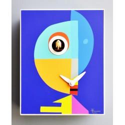 Orologio a Cucù D'Apres Klee by Pirondini Italia