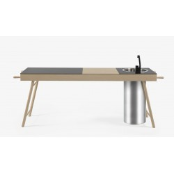 Cucina freestanding Critter con cassetto by STIP