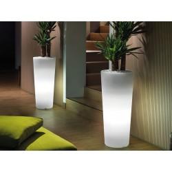 Portavaso luminoso Cache-pot Genesis totondo by Lyxo Design