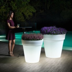 Vaso cachepot EASY luminoso by Lyxo Design