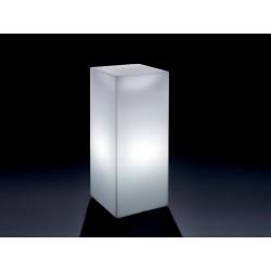Pouf / Tavolino Home Fitting cubo alto luminoso by Lyxo Design
