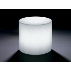 Pouf / Tavolino Home Fitting cilindro luminoso by Lyxo Design