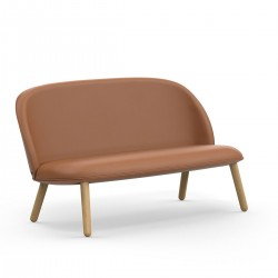 Divanetto Ace Sofa in pelle by Normann Copenhagen