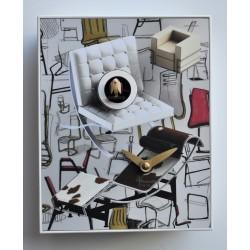 Orologio con cucù Design Chairs by Pirondini Italia