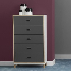 Cassettiera Kabino Dresser w. 5 Drawers by Normann Copenhagen