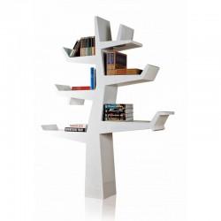Libreria laccata a forma di albero Wintertree