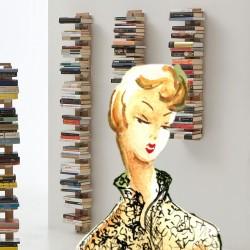 Libreria a parete Zia Ortensia by Le Zie di Milano