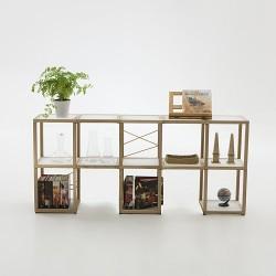 Libreria componibile Zia Babele I Castelli 1 by Le Zie di Milano