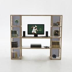 Sistema componibile Zia Babele I Castelli 5 by Le Zie di Milano