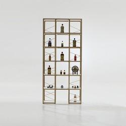 Libreria componibile Zia Babele I Castelli 9 by Le Zie di Milano