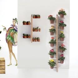 Portapiante da terra fissato a parete Zia Flora by Le Zie di Milano