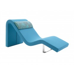 Chaise lounge Longway O by Segis