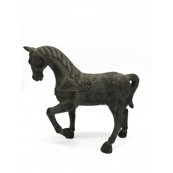 Scultura Cavallo in piedi con base by Royal Family Sheffield