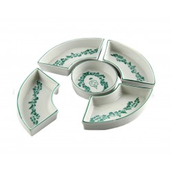 Antipastiera Set 5 PZ Montparnasse by Royal Family Sheffield