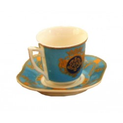 Tazzina Caffè con piattino in scatola regalo by Royal Family Sheffield