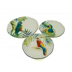 Servizio 18 Piatti Jungle Parrot by Royal Family Sheffield