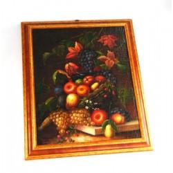 Fiammingo dipinto ad olio con cornice by Royal Family Sheffield