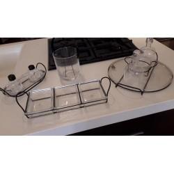 Set da cucina in vetro by IVV
