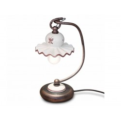 Lampada da tavolo in ceramica Roma by Ferroluce